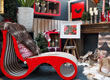 Giuliano Tomaino artworks & Lessmore Furniture at Agricola Home & Garden