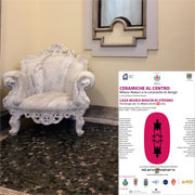 The Ceramiche al Centro exhibition brings together four collections of design ceramics (Hand and Terracotta; Ceramics, Food and Design; Together; Ceramic Authorial Jewelry) produced by Milano Makers