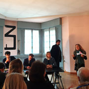 Press conference for the opening of the exhibition CERAMICHE AL CENTRO - Milano Makers and design ceramics organized at the Museo Boschi Di Stefano - 21 November 2019