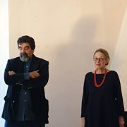 Press conference for the opening of the exhibition CERAMICHE AL CENTRO - Milano Makers and design ceramics - Cesare Castelli e Maria Cristina Hamel - 21 November 20199