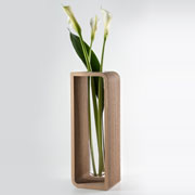 To Be - Cardboard vases, design by Giorgio Caporaso for Lessmore