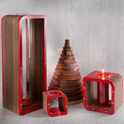 To Be - Candle holders, design by Giorgio Caporaso for Lessmore