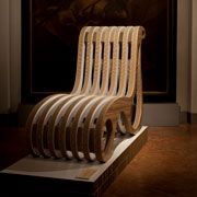 Chaise longue X2Chair in mostra a Milano