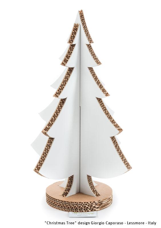 Albero Di Natale In Cartone Design Giorgio Caporaso Lessmore