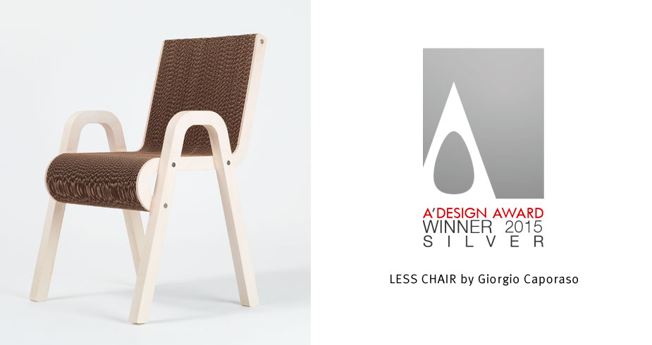 Less Chair - Giorgio Caporaso design