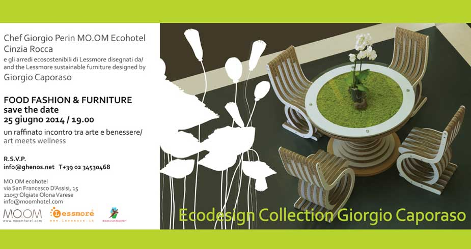 Ecodesign Collection Giorgio Caporaso per Lessmore