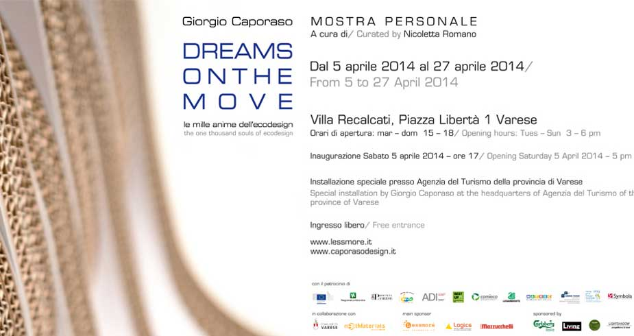 DREAMS ON THE MOVE - Le mille anime dell'ecodesign
